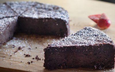 Homemade Torta Caprese