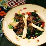 Steak salad- (M)