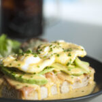 Salmon & Avocado Benedict